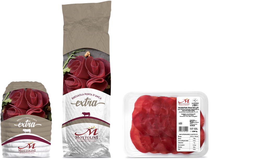 Extra - Punta d'Anca Bresaola - Packaging
